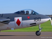 The Hawker Sea Hawk - a rare Suez Crisis veteran (Nikkor 70-300, 100mm, f/8, 1/160s)