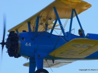 Close in with the Stearman (Nikkor 70-300, 300mm, f/8, 1/250s)