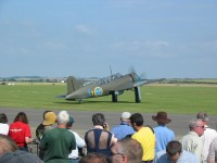 An unusual Saab B17 makes an appearance